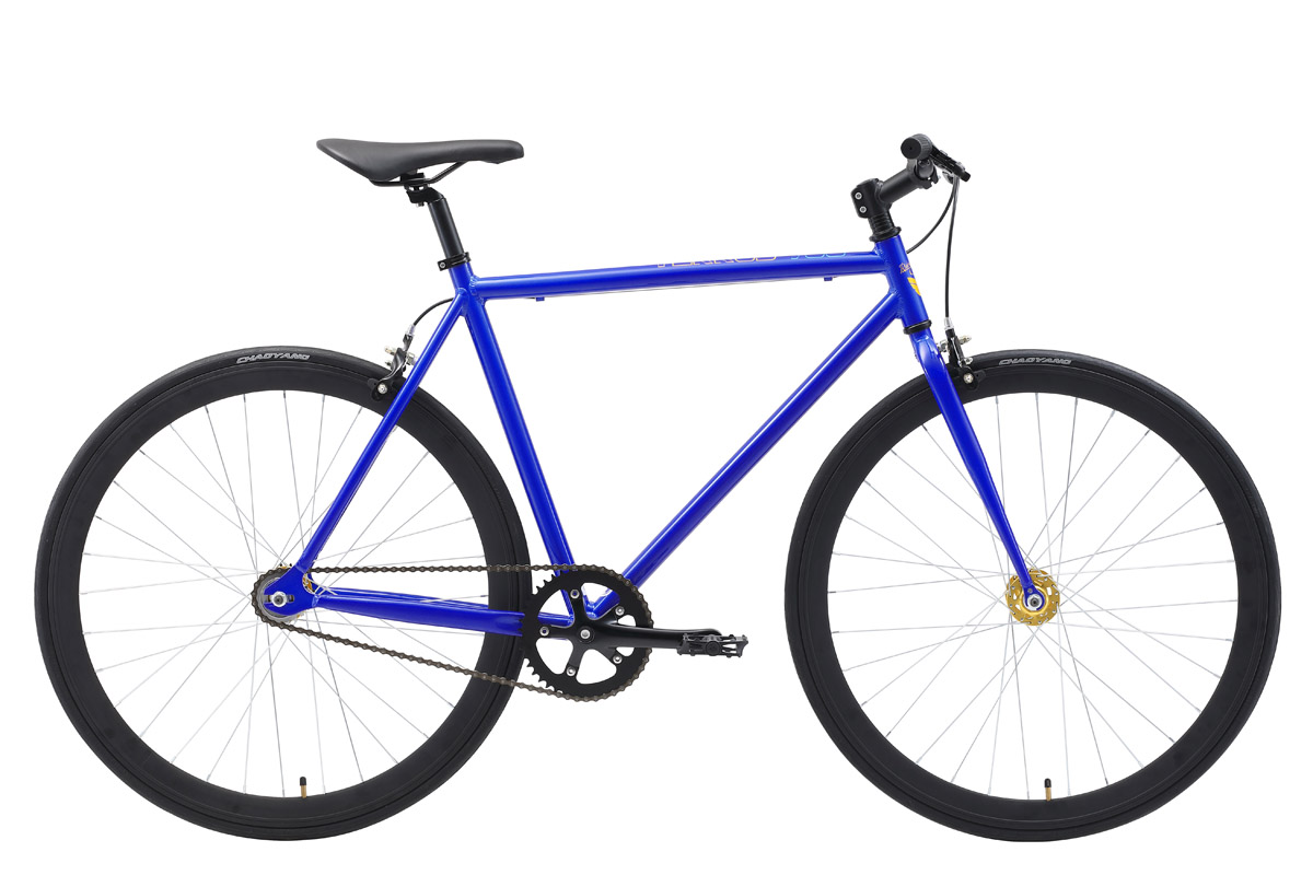 Велосипед Stark Terros 700 S 2018 синий-жёлтый 21 д