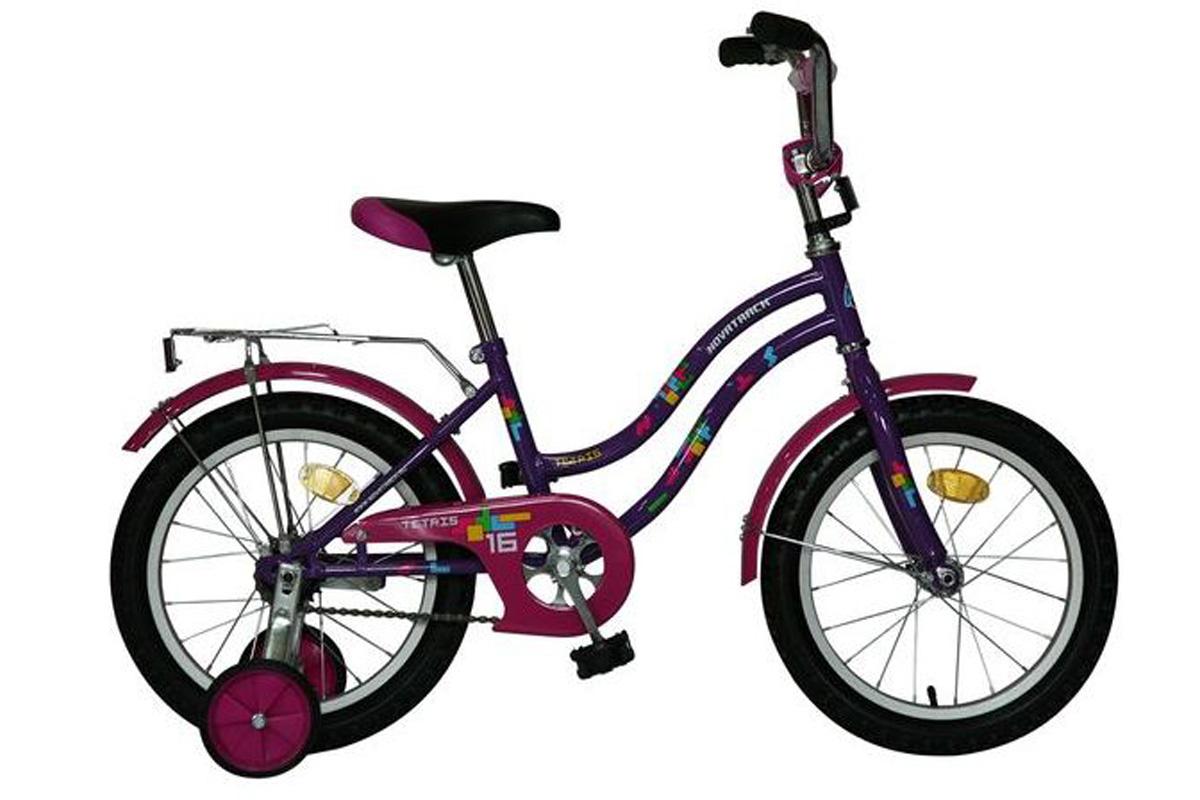 NOVATRACK Велосипед Novatrack Tetris 16 (2016) розовый one size велосипед novatrack flyer 2016