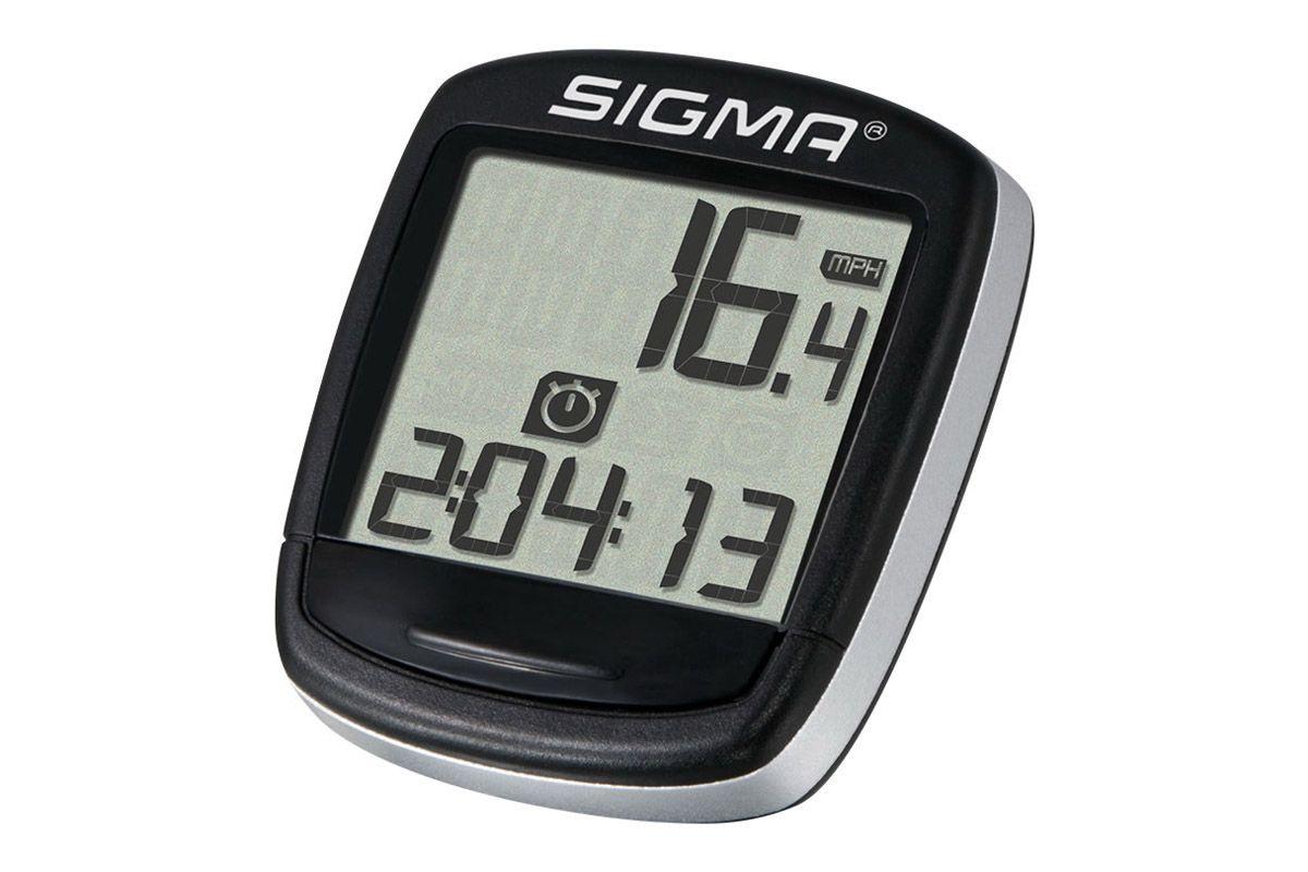 Велокомпьютер Sigma BC 500 BASELINE серебристо-черный one size SIGMA