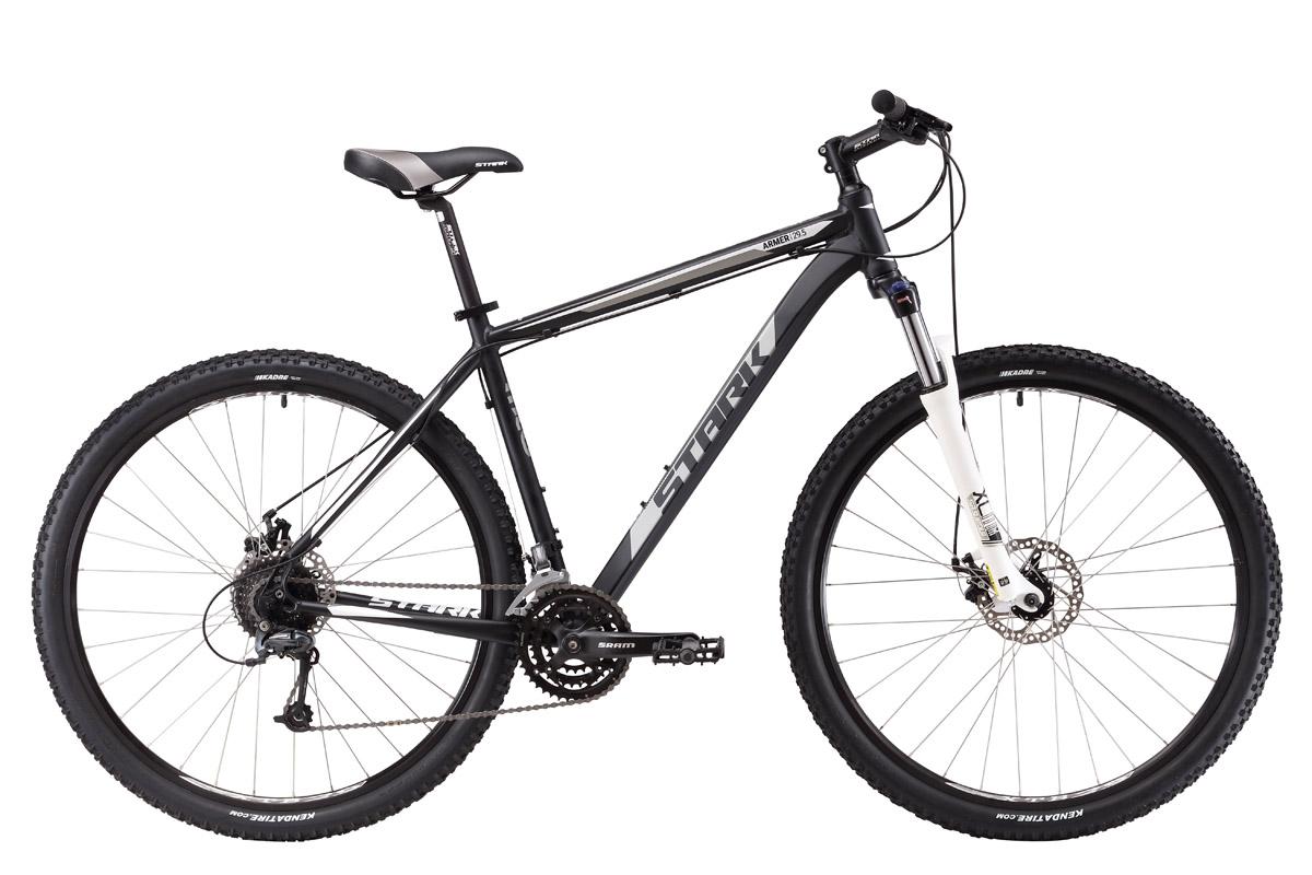 Велосипед Stark Armer 29.5 D 2017 черно-белый 18 д