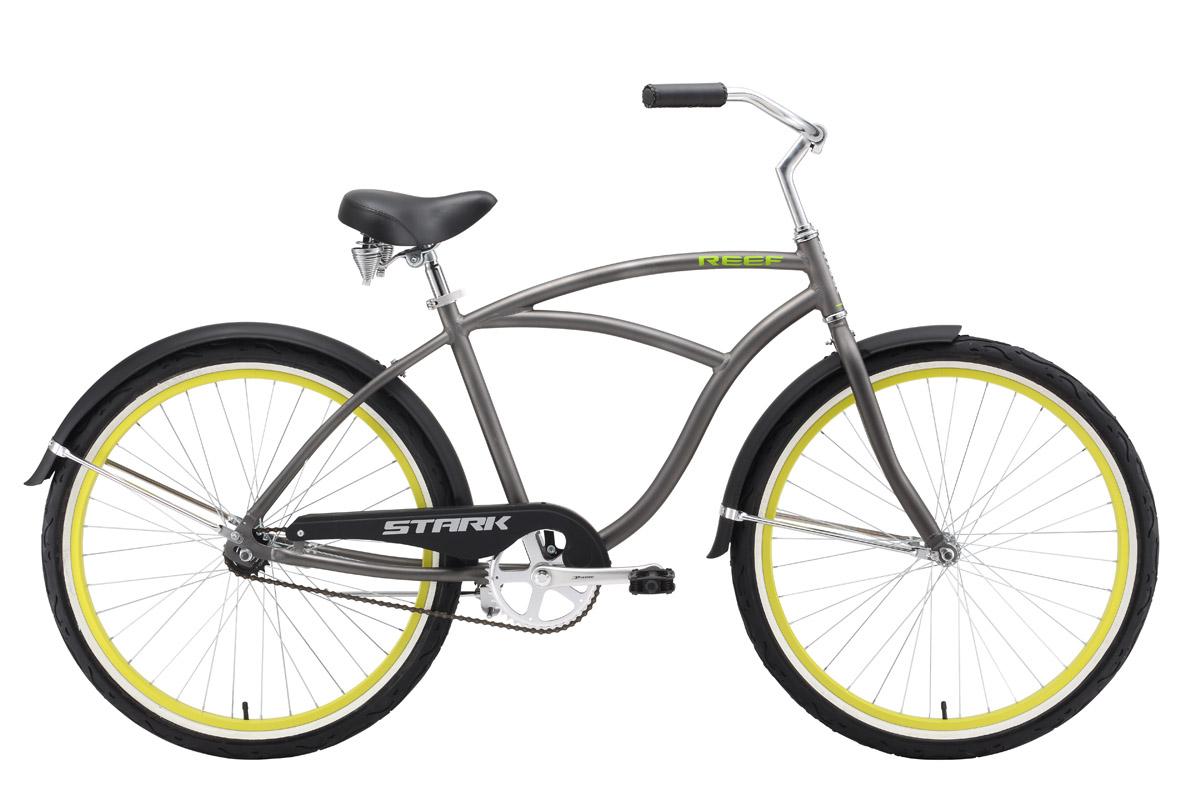 Велосипед Stark Reef 2016 серо-зеленый 18 д