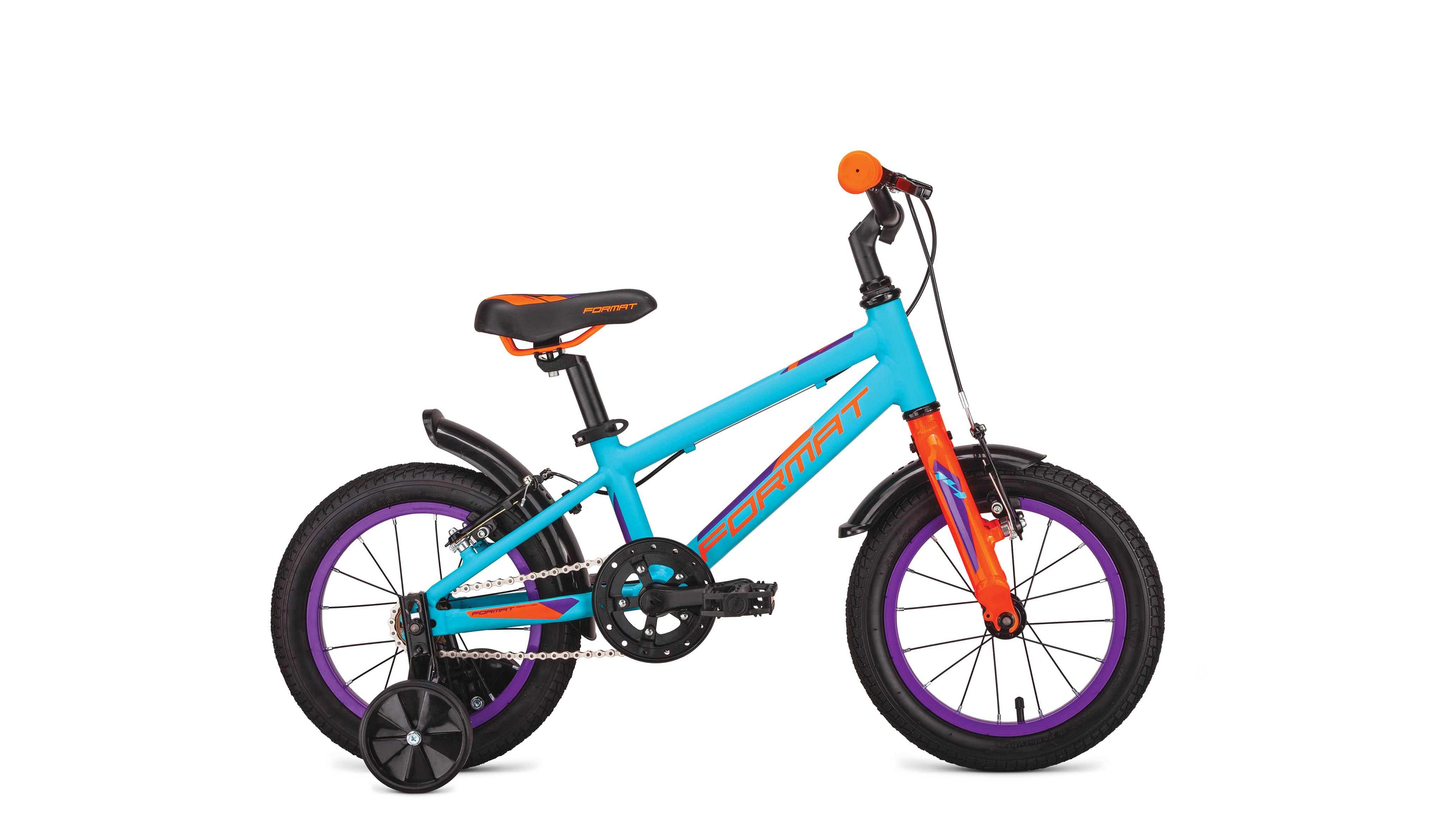 Велосипед FORMAT Kids 14 2019 зеленый one size
