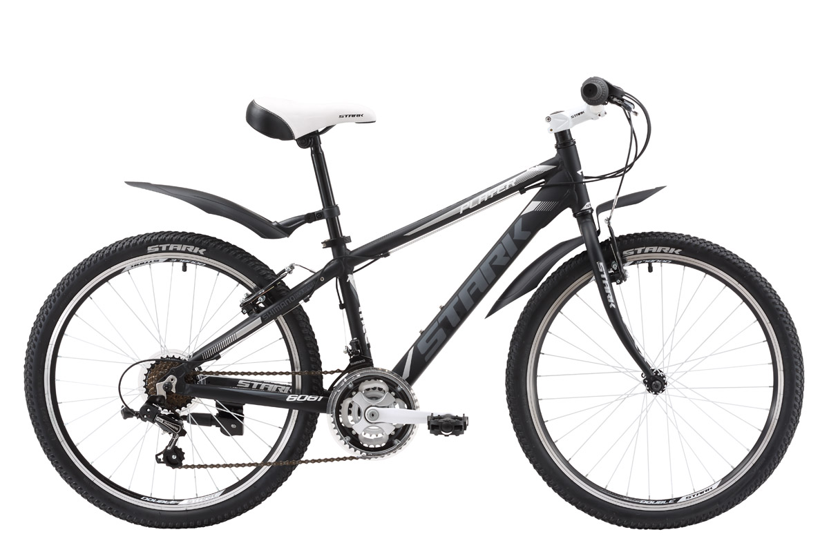 Велосипед Stark Player 2016 черно-белый one size