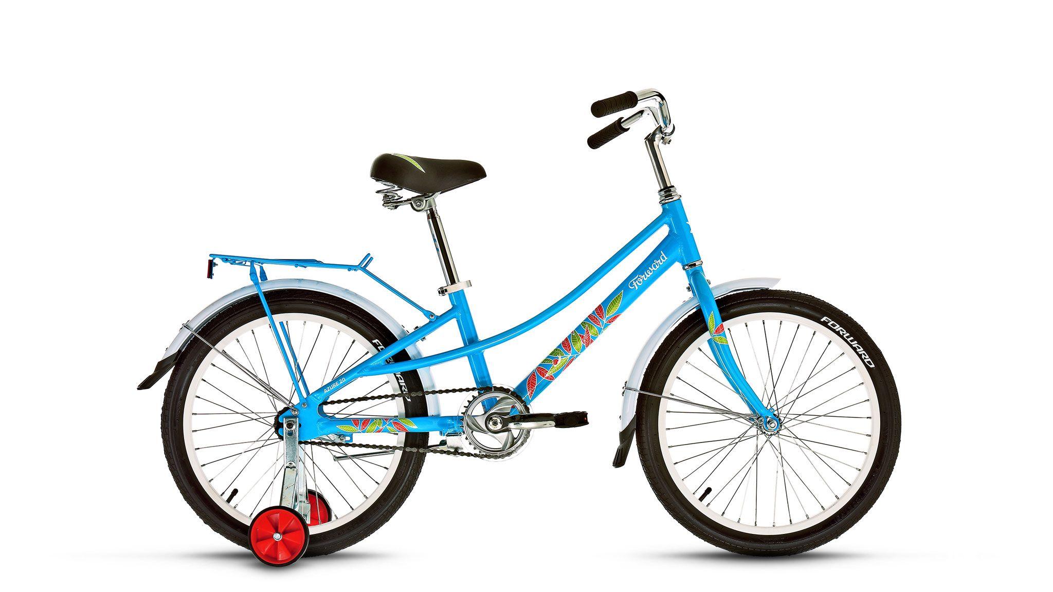 FORWARD Велосипед Forward Azure 20 (2016) голубой 10.5 велосипед forward azure 1 0 17 2016 blue matte