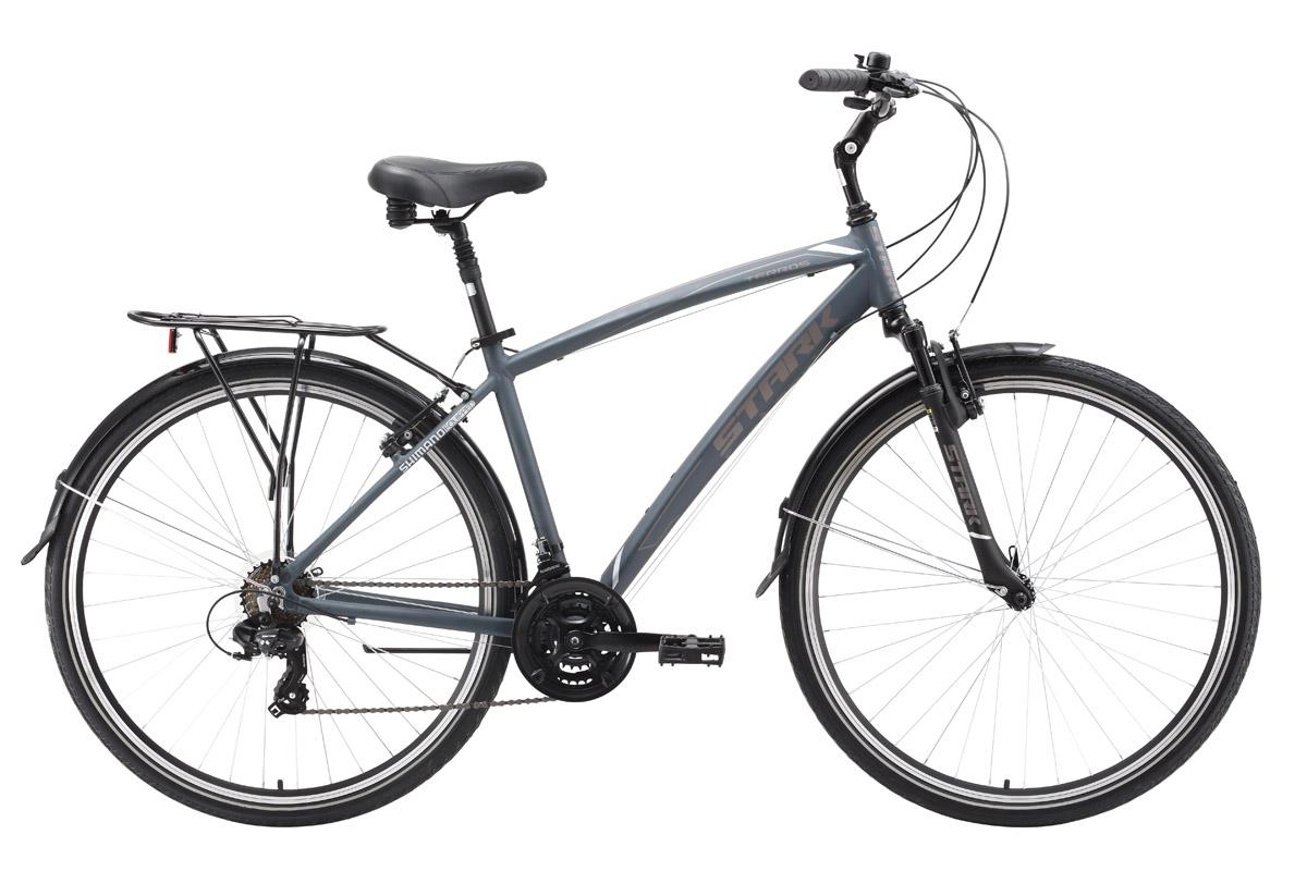 "Фото #1: Велосипед Stark Terros (2016) темно-серый 20"""