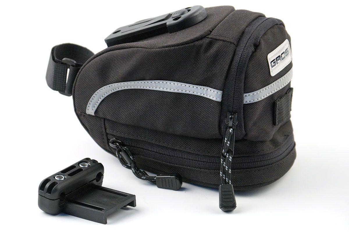 Подседельная сумка TY-08065 AMX GROS черныйСУМКИ<br>Велосумка под седло, в которую можно легко убрать металлические, твердые предметы – ключи, ремкомплекты и прочие полезные вещи. Она с легкостью крепится под седло вашего велосипеда специальными ремнями<br><br>бренд: NO-NAME<br>год: Всесезонный<br>рама: None<br>вилка: None<br>блокировка амортизатора: None<br>диаметр колес: None<br>тормоза: None<br>уровень оборудования: None<br>количество скоростей: None<br>Цвет: черный<br>Размер: None