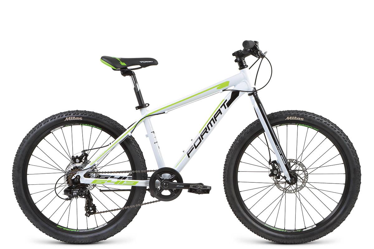 FORMAT Велосипед Format 6413 Boy (2017) белый 13 zipower pm 5145