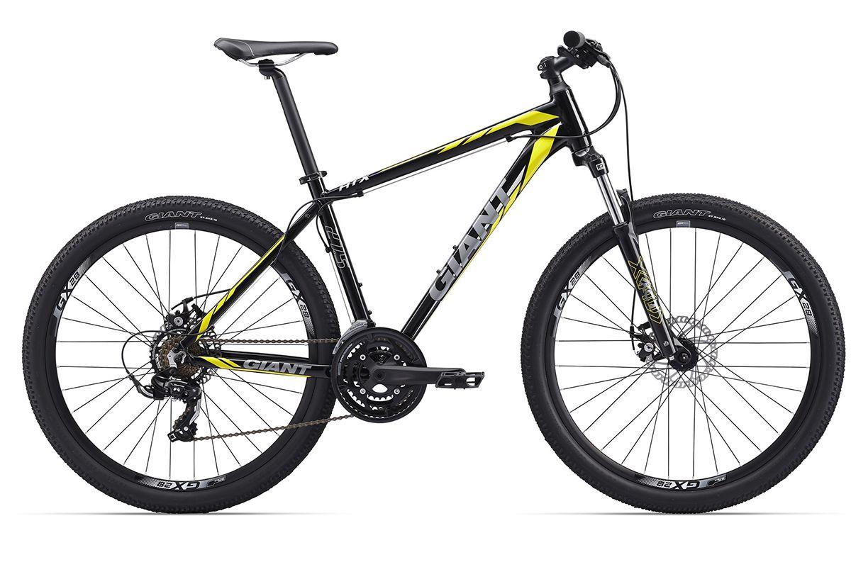 Велосипед Giant ATX 2 (2017) черно-желтый M