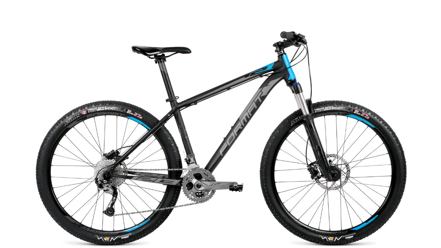 Велосипед Format 1213 27.5 2018 черный-матовый S