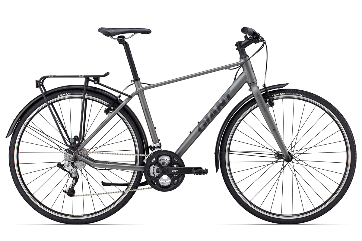 Велосипед Giant Escape 2 City 2015 чёрный S