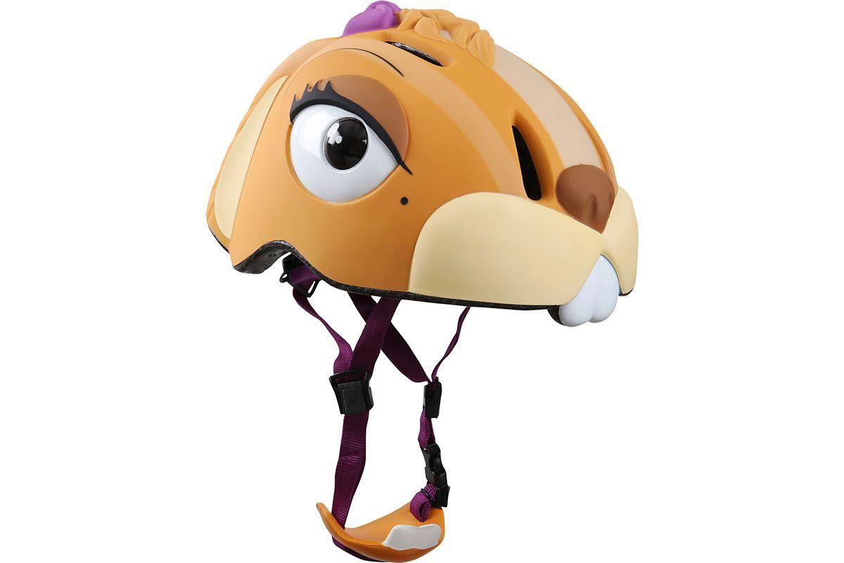 Шлем велосипедный Crazy Safety CHIPMUNK рыжийШЛЕМЫ<br>Детский велосипедный шлем с резиновой отделкой и цветным ремешком. Встроенный LED фонарик на задней части шлема работает в 3 режимах. Вложенный подбородок входит в комплект. Шлем регулируется по размеру #40; 49-55 см.#41;<br><br>бренд: NO-NAME<br>год: Всесезонный<br>рама: None<br>вилка: None<br>блокировка амортизатора: None<br>диаметр колес: None<br>тормоза: None<br>уровень оборудования: None<br>количество скоростей: None<br>Цвет: рыжий<br>Размер: None
