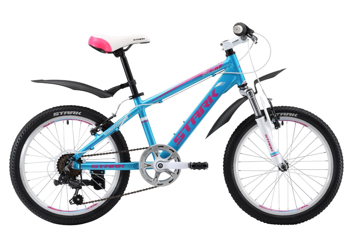 Велосипед Stark Bliss 20.1 V 2017 сине-розовый one size
