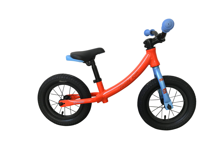 Беговел Stark Tanuki Run 12 2019 оранжевый-голубой one size