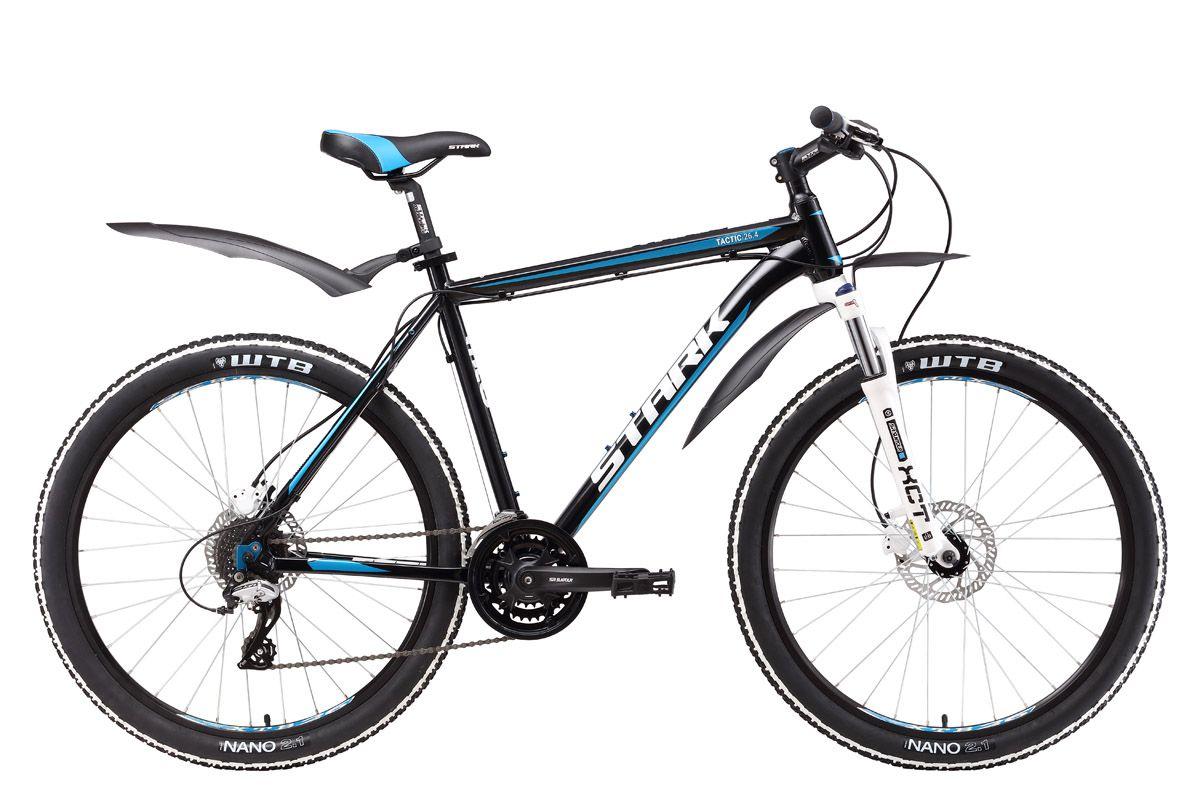 Велосипед Stark Tactic 26.4 HD (2017) черно-синий 16