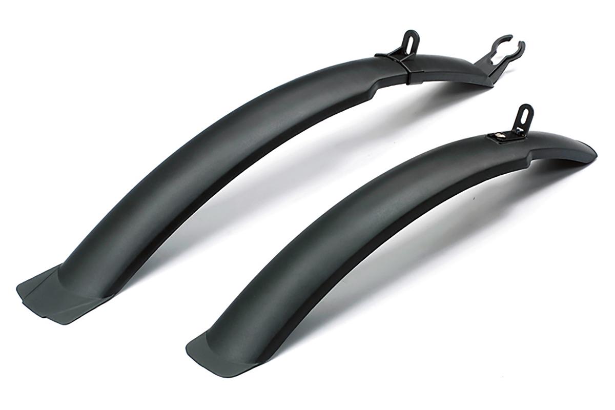 Комплект крыльев SF-267F/R 24-26 черныйКРЫЛЬЯ<br>Стандартные велосипедные крылья для защиты велосипеда от грязи и пыли, летящей из под колес. Подходит практически к любой модели велосипеда с диаметром колес 24-26 дюймов , переднее с креплением на кронштейне, заднее с креплением за подседельную трубу<br><br>бренд: SHENG FA<br>год: Всесезонный<br>рама: None<br>вилка: None<br>блокировка амортизатора: None<br>диаметр колес: None<br>тормоза: None<br>уровень оборудования: None<br>количество скоростей: None<br>Цвет: черный<br>Размер: None