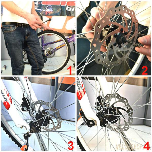 как собирают велосипедное колесо