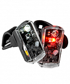 Фонарь передний Kryptonite AVENUE F-50/R-14 DUAL LED